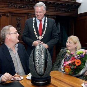 Alex Hogeslag wint veiligheidsprijs 2016 gemeente Deventer